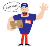 Parcel Pete - This is NOT the look you want to be going for!