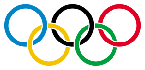 They represent the five different areas of the world involved in the Olympics. They strive for greater participation.