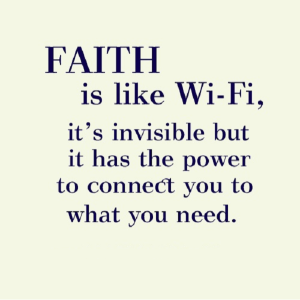 Great Faith Quote!