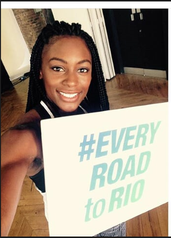 PSD is 'right on track now'. Watch out for her! #RoadtoRio