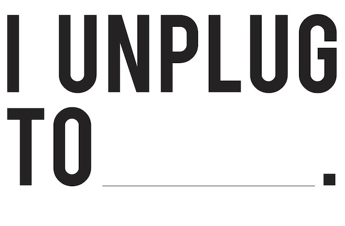 I unplug to.... relax, respect other's & my own time, and to be more productive. What or who do you unplug for? Take 2 minutes to find your own answer.