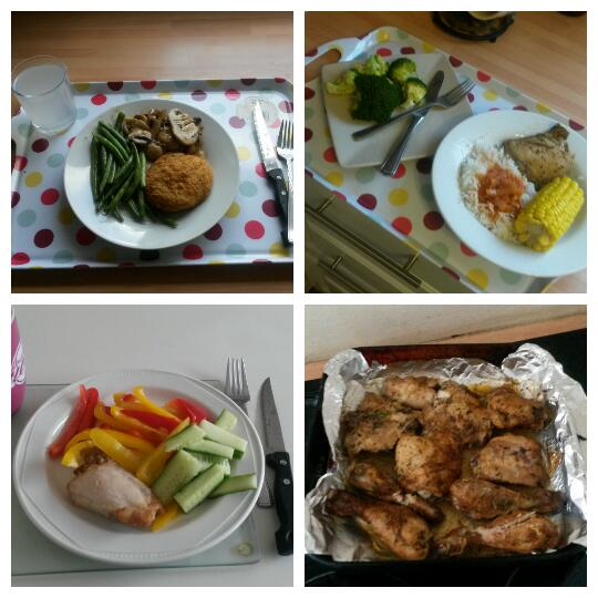4 square healthy food