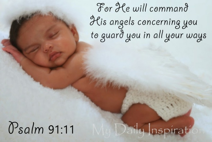 He will command his anges concerning you