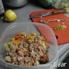 tuna mix w veg
