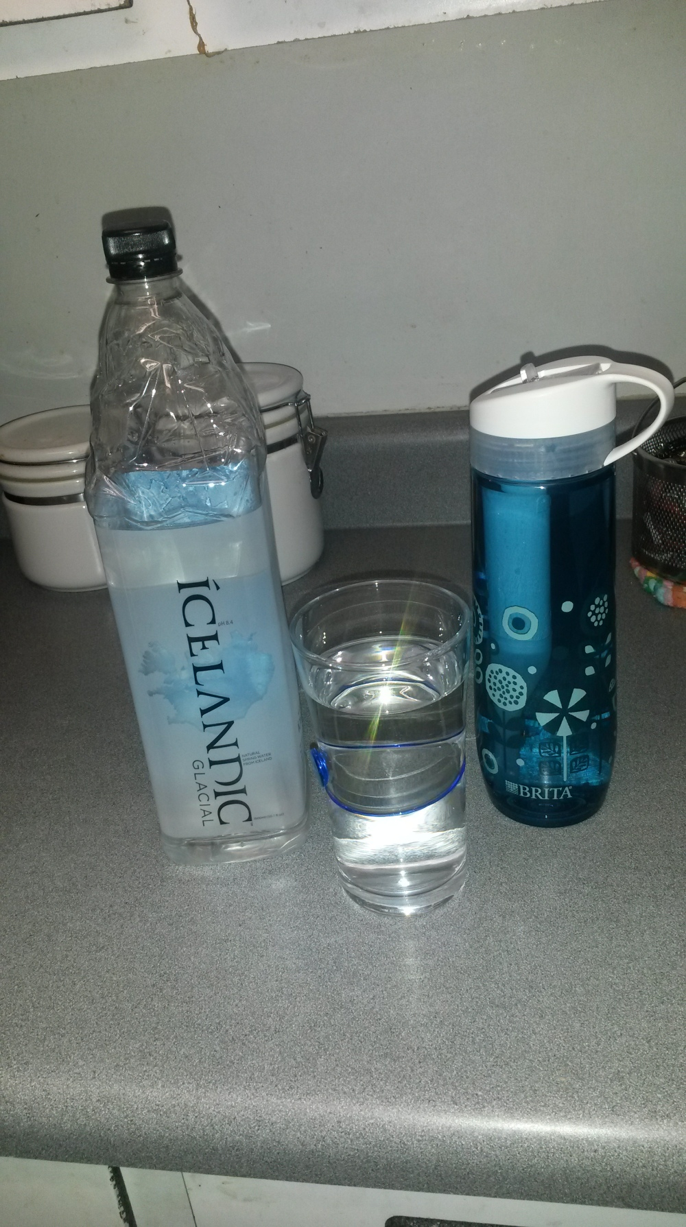 Icelandic vs Brita Filter. What's your fave?