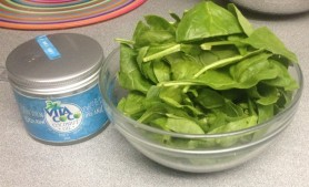 vita coco coconut oil spinach
