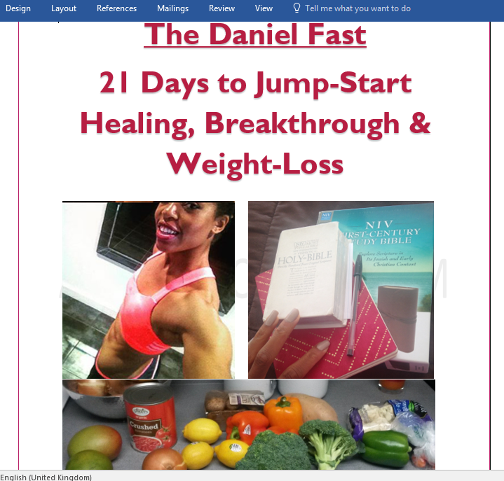 21-Day Daniel Fast Diet Plan for Body & Spirit – abigailirozuru