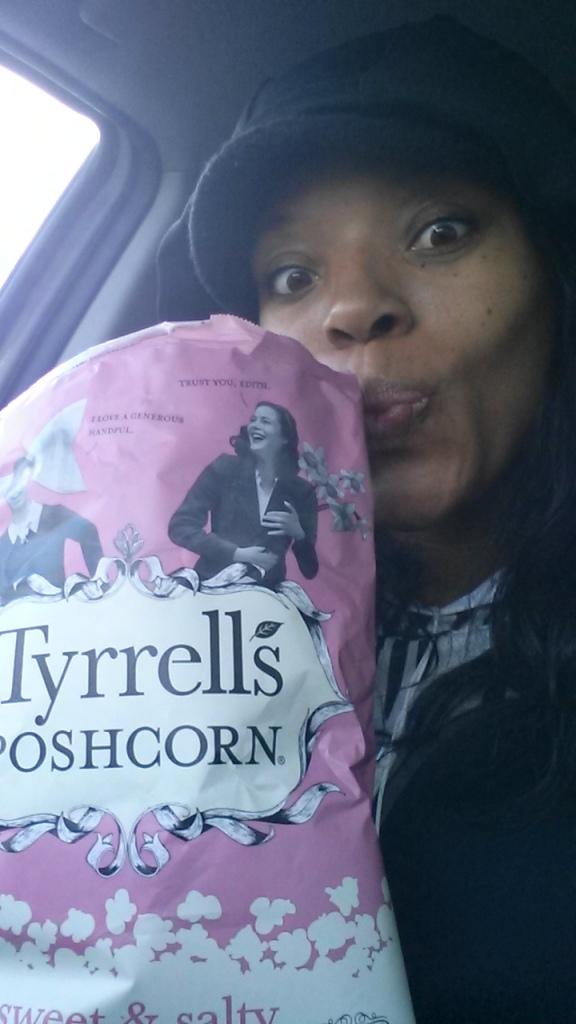Tyrells snack popcorn