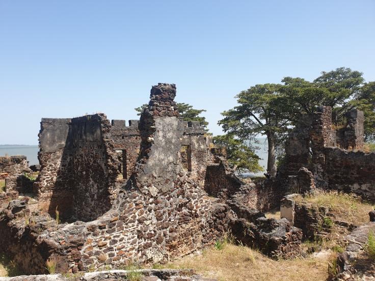 Ruins on Kunta Kinte Island